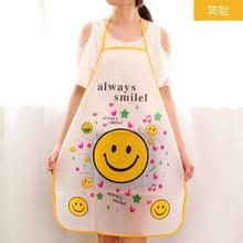 1 Pieces Women Restaurant Home Kitchen apron Flower Printed Pocket Lace Cooking Cotton Apron WQ10