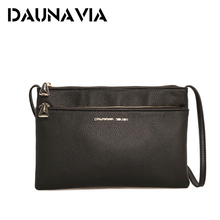 DAUNAVIA Double Zipper Envelope bags handbags women famous brands Women Messenger Bag luxury handbags women bags designer ND009
