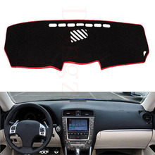 Dongzhen Fit For Lexus IS 2005-2011 Car Dashboard Cover Avoid Light Pad Instrument Platform Dash Board Cover