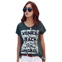 Buy Camisas Femininas Tshirt Women Clothes 2017 Leisure Print T Shirts Summer Tops Short Sleeve T-Shirt Vetement Femme Poleras Mujer for $9.59 in AliExpress store