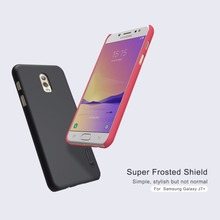 Original Nillkin Super Frosted Shield Hard Back PC Cover Case For Samsung Galaxy J7+/Galaxy C8 Phone Case + Screen Protector