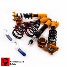 Coilovers Suspension kits for 94-04 Ford Mustang 4th Adj. Height & Mounts Shocks Struts Coilovers Spring(China)