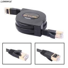 1.5m Adjustable Retractable Scalable Network Extension Portable Cable broadband line cable laptop portable