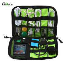 3C Accessories Storage Bag Gadget Travel Organizer Case Bag for Electronic Digtal Accessories USB Cables Power Banks Hard Disk