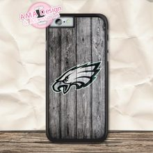 Philadelphia Eagles American Football Case For iPhone X 8 7 6 6s Plus 5 5s SE 5c 4 4s For iPod Touch 5 4(China)
