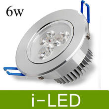 High Power Led Downlight Dimmable 3x2w 6w Recessed Led Ceiling Spot light Warm Cool White 3000k  AC90-260v + Driver UL CE&ROHS