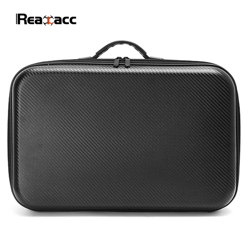 High Quality Realacc PVC Handbag Backpack Bag Case with Sponge for Eachine Wizard X220S FPV Racing Drone<br>