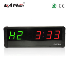 "[Ganxin]4"" Plus Programmable Aluminium Alloy Indoor Led Crossfit Interval Timer Training Rest Time Alternate"