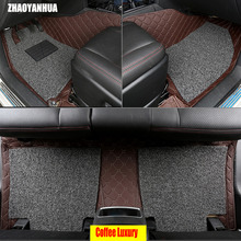 ZHAOYANHUA Car floor mats specially for Kia Sorento 6D all weather heavy duty car-styling carpet rugs floor liners (2002-present
