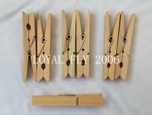 100 units  35mm mini Wooden Spring CLIP | Decoration Wood banner Clip | Christmas gift Bag Pin | Top Quality