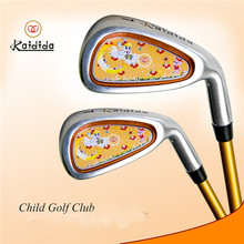 Golf Putter Club Original Brand Kaidida Children Practice Carbon Iron 7 Golf Clubs