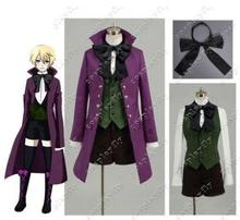Black Butler II 2 Alois Trancy Cosplay Costume Coat Shorts New(China)