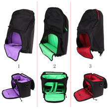 Waterproof DSLR Camera Bag Laptop Backpack Shockproof Case Anti-thief w/ Rain Cover