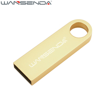 New WANSENDA USB Flash Drive 64GB Waterproof Pen Drive 4GB 8GB 16GB 32GB USB 2.0 Pendrive USB Stick Flash Drive(China)