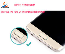 Buy Touch ID Fingerprint Identification Samsung S8 Plus S7 edge S6 Note5 C5 C7 iPhone Home Button Protective Sticker for $1.51 in AliExpress store