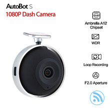 AutoBot Car DVR  Full HD 1080P Car Camera DVRS WiFi Smart Dash Cam DVR Eye Wireless Mini Video Recorder G-Sensor Night Vision