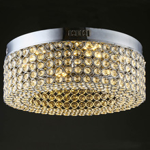 Modern K9 crystal led Chandeliers led lamps Stainless steel led Chandelier High-power led lustre light Chandelier Z50