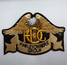 Free shipping 10 pcs Brand Logo Patch Harley Badges,Iron on Patches,100% Quality Assurance