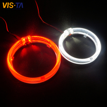 Buy 80MM,95MM Optical Lens LED Angel Eyes Halo Ring COB Auto Halo Rings Angel Eye COB Chips Headlight Car Angel Eyes Motorcycle for $28.79 in AliExpress store