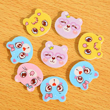 4 Pcs /Lot Kids Erasers School Office Supplies Lovely Funny Cartoon Cat Bear Creative Cute Eraser Students Gift Eraser papelaria