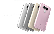 Mix models Nillkin Soft TPU Clear case for LG G5 Dust plug nature Transparent Protector skin cover
