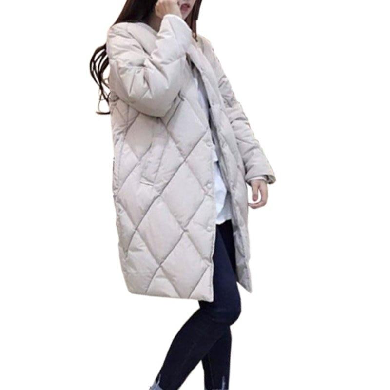 Korean 2017 Women Warm Jacket New Winter Long Down Coat Cotton Parkas Female Slim Ladies Jackets Coats Plus SizeОдежда и ак�е��уары<br><br><br>Aliexpress