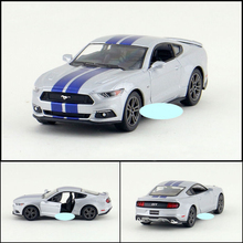 New KiNSMART 1:38  FORD 2007 Shelby GT 500 Cobra Alloy Car Model Toys With Pull Back For Kids Toys Gifts  Free Shipping