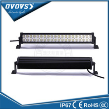 "OVOVS straight dual row 22"" 120w 4x4 offroad wholesale led light bars off road for truck 4x4 offroad"