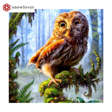 Forest eagle Needlework 3D diamond embroidery full resin diamond with picture home decor mosaic diy diamond painting(China)
