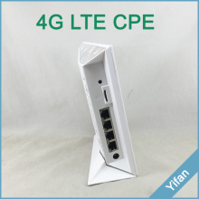 indoor CPE YF-P10 TDD FDD LTE 4g 3g WCDMA CPE router with sim card slot for wifi sharing