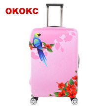 Cartoon Thick Travel Luggage Protective Covers For 18-30 Inch Suitcase Elastic Luggage Cover Suitcases Cover, Travel Accessories(China)