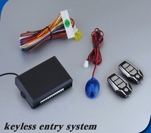 Remote Control PKE Passive Keyless Entry Car Alarm Security  System