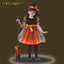Christmas Girls Party Dress Carnival Princess Prom Dress Kids Tutu Clothes Ball Gowns Kids Infant Dress Children Cosplay Costume(China)