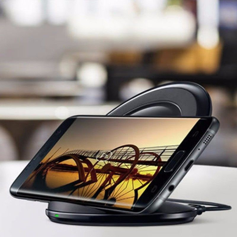 Original eAmpang 10W Qi Fast Wireless Charger for Samsung Galaxy S7 edge S8 S9 Plus Note 9 8 5 Apple iPhone X XS Max XR 8 Plus 5