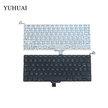 New French Laptop Keyboard 2009-2012 For Apple Macbook Pro A1278 MC700 MC724 MD313 MD314 FR Keyboard Replacement(China)
