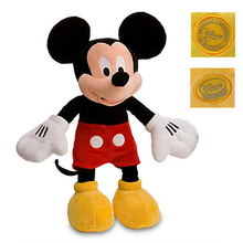 "Hot Toys Mickey pelucia Minnie Plush Toys 45cm18""/48cm19"" Stuffed Animals Girls Dolls Soft Action Figures Boys Toys Kids Gifts(China)"
