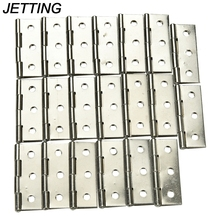 "JETTING High Quality Stainless steel Cabinet Door Hinge 6 Holes Boat Marine Cabinet Butt Hinge 2"" 10 PCS Wholesale(China)"