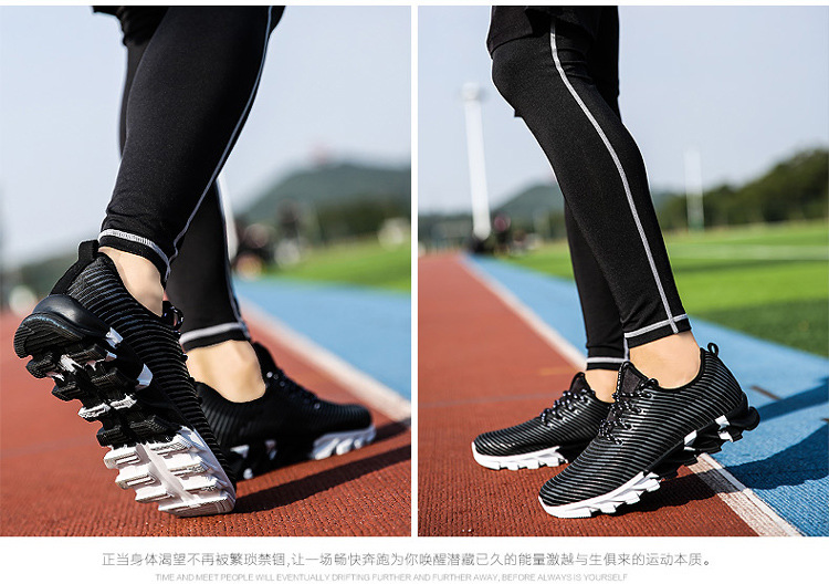 17New Hot Light Running Shoes For Men Breathable Outdoor Sport Shoes Summer Cushioning Male Shockproof Sole Athletic Sneakers 29