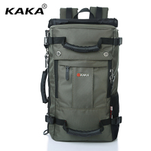 "KAKA Brand Designer Laptop Backpack Men Messenger 17"" Computer Casual Shoulder Bag Functional Women Travel Versatile Luggage Bag(China)"