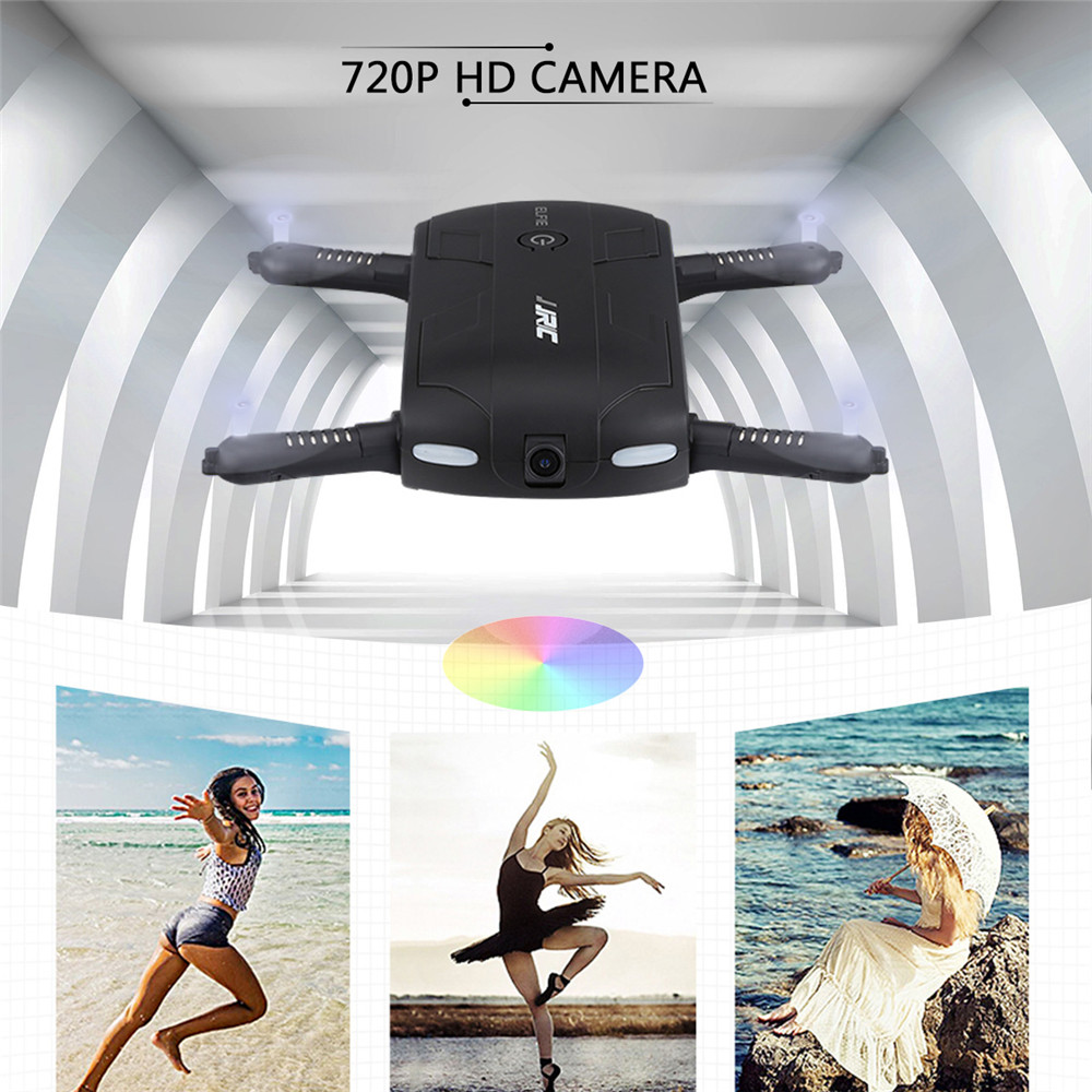 JJRC H37 ELFIE Foldable Pocket Selfie Drone WiFi FPV Phone Control Quadcopter Altitude Hold G-Sensor Mode 720P HD Selfie Drone 04