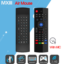 MX3 MX3-M Fly Air Mouse 2.4GHz Wireless Mini Keyboard IR Learning Mode Remote Control for TV Box mini pc computer Remote Control