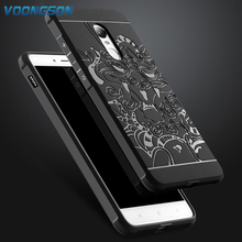 Buy VOONGSON Xiaomi Redmi Note 4 Case 5.5inch Phone Bags Back Cover Armor Shockproof 3D Dragon High Rubber Soft Silicone for $4.04 in AliExpress store