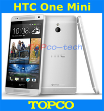 "Original HTC One Mini Unlocked GSM 3G&4G Android Dual Core Mobile Phone 4.3"" WIFI GPS 4MP 16GB ROM HTC 601e dropshipping"