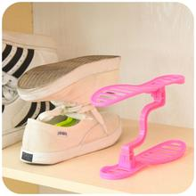 new fashion Creative Double integral plastic removable shoe rack Three-dimensional storage shoe rack