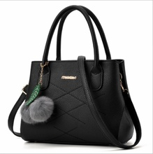 Women Bag Pu Leather Tote Brand Name Bag Ladies Handbag Lady Evening Bags Solid Female Messenger Bags Travel / by dhl 50pcs