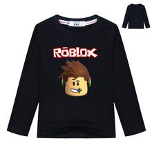 3-13Year Boys Tops Roblox T-shirt Girls Cartoon Top Kids Tennis Clothing Infant Boy Clothing Long Sleeve Tee Camisa Menino(China)