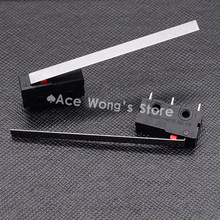 10PCS Limit Switch, 3 Pin N/O N/C High quality All New 5A 250VAC Micro Switch(China)