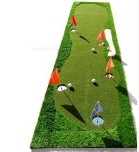 Golf putt practice mats indoor/outdoor practice blanket coaching practice putting green scale pad new High quality Korean grass(China)