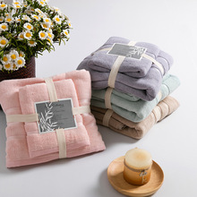 Thick Luxury 100% Bamboo Fiber Bath Towels Gift towel set Solid SPA Bathroom Beach Terry Bath Towel for Adults Serviette de Bain