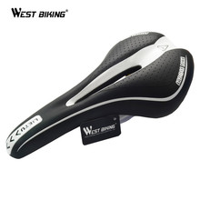 WEST BIKING MTB Mountain Bike Bicycle Cycling Silicone Skidproof Saddle Seat Silica Gel Cushion Seat VD-104 Black Bicycle Saddle(China)